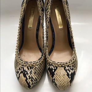 BCBG Snake-Print Heel