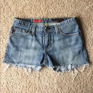 AG Adriano Goldschmied Pants - AG DIY Cut-off Shorts 27