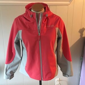 Free Country Jackets & Blazers - Free Country Ski/Rain Jacket Pink/Grey Size XL
