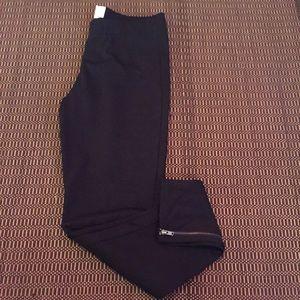 a'gaci Pants - Black pant side zipper