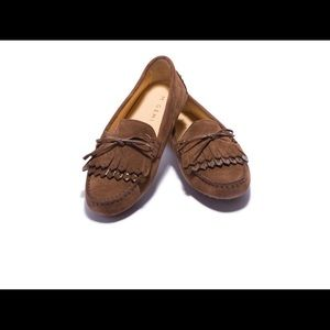 M. Gemi Shoes - M. Gemi Strato Chestnut Suede Loafer 7