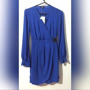 Royal Blue Long-Sleeve Dress