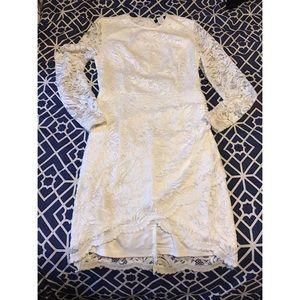 a'gaci Dresses & Skirts - Lace white dress. 💜