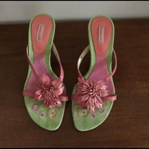 Gorgeous pink spring sexy sandal!