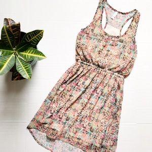 Xhilaration Dresses & Skirts - Xhileration Racerback Rainbow Print Dress