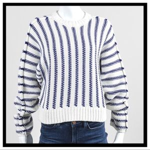 T by Alexander Wang Sweaters - T by Alexander Wang Chunky Knit Cropped Sweater