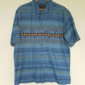 Woolrich Other - ☆☆Woolrich men's unique fishing pattern shirt