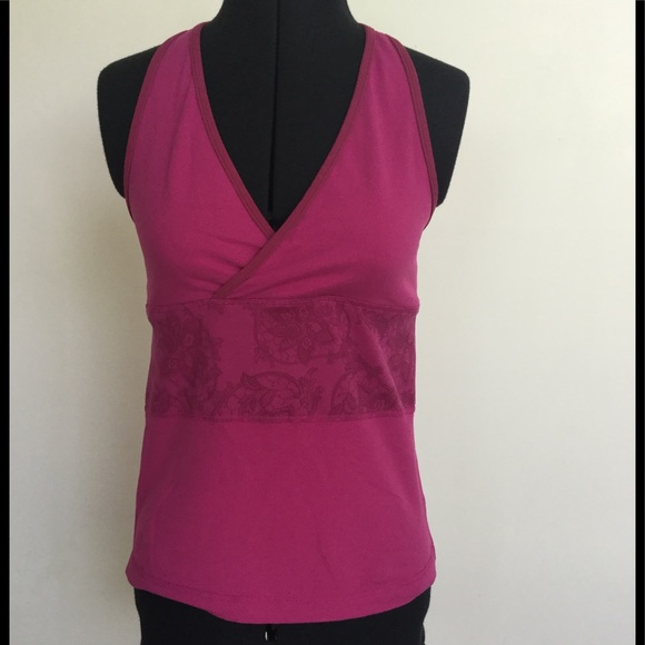 41 off lululemon athletica tops lululemon pink built in for Shirts with built in sports bra