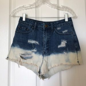 BDG High Wasted Cheeky Shorts