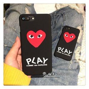 Comme des Garcons Accessories - Comme des Garçons heart iPhone 7 / plus phone case