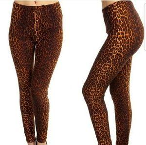 WILA Pants - 🌹Only2Availabl🌹Leopard Print 'PeachSkin' Legging