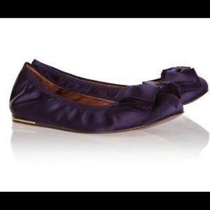 Lanvin Shoes - Lanvin ballerina flats with satin bow