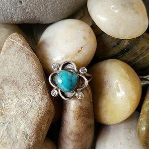 Jewelry - 🐢Retro Turquoise Ring