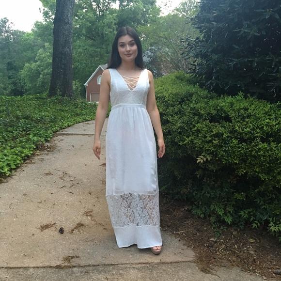97b8b60e301 Romantic dress  maxi dress
