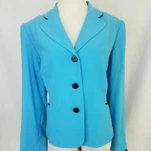 Studio 1 Jackets & Blazers - Studio 1 Three Button Blazer With Shoulder Pads