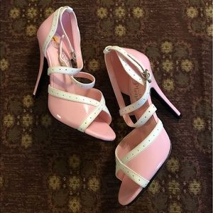 pleaser Shoes - 🌟SALE🌟Pleaser pink and white heels