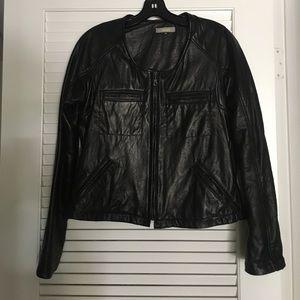 Hoss Jackets & Blazers - Hoss leather jacket