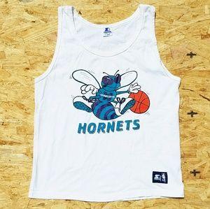 Tops - Vintage 90s Charlotte Hornets Shirt