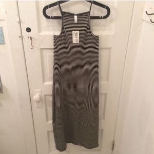 American Apparel Dresses & Skirts - American Apparel Striped Midi Dress