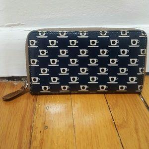 Orla Kiely zip wallet