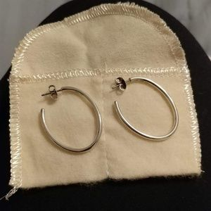 James Avery Jewelry - Gently used james avery Oval Hoop Ear Posts