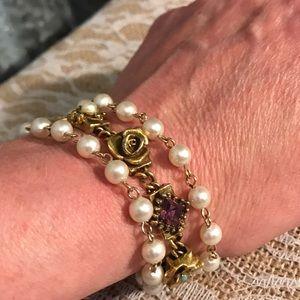 Vintage Jewelry - ♨New Listing♨ Vintage Goldette NY Bracelet