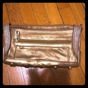 Rebecca Minkoff Handbags - Rebecca Minkoff Gold Clutch