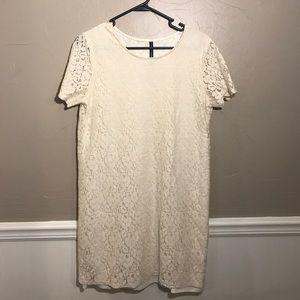 W118 by Walter Baker Dresses & Skirts - W118 by Walter Baker Ivory Lace shift dress