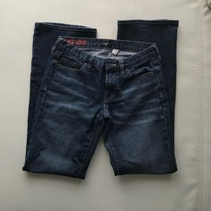 JCrew hipslung jeans