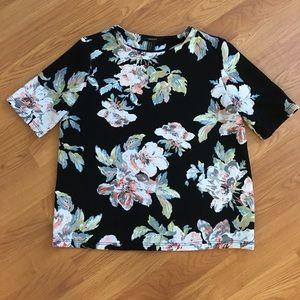 Tops - Flower shirt