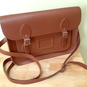 "Cambridge Satchel Handbags - Cambridge Satchel company Brown 13"" Leather bag"