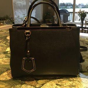 Fendi Handbags - FENDI 2Jours Petite Shopper