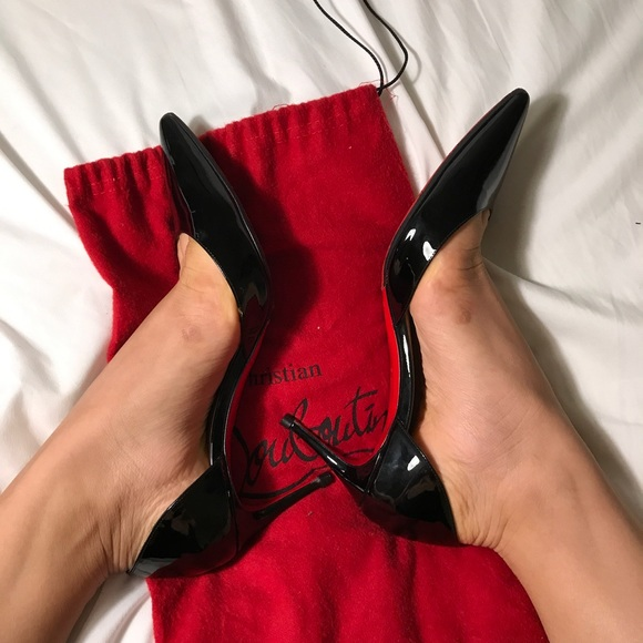 new style 39b32 1baf0 Christian louboutin Iriza 70 MM pumps