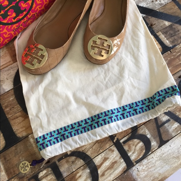 50 Off Tory Burch Shoes Tory Burch Rare Quilted Patent