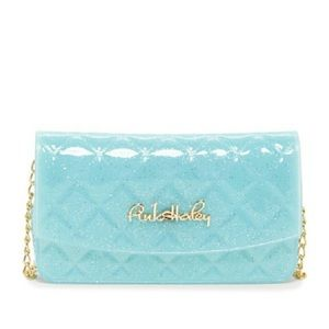 Light blue jelly crossbody bag