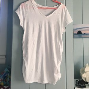 Liz Lange for Target Tops - White maternity top NWOT