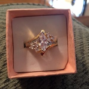 Accessory Collective Jewelry - YGP Simulated Diamond Ring REDUCED TODAY