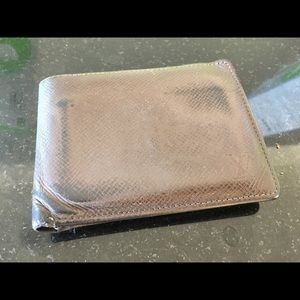 Louis Vuitton men's leather wallet