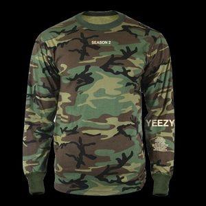 Yeezy shirts season 2 invite memorabilia camo tee poshmark yeezy shirts yeezy season 2 invite memorabilia camo tee stopboris Images