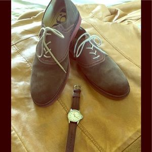 1901 Other - Suede and leather brown and burgandy