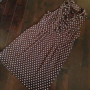 Just Taylor Dresses & Skirts - Polk a dot dress