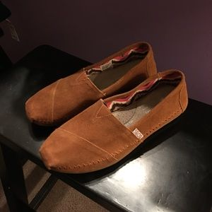 Skechers Shoes - Bobs by Sketchers brown suede moccasin shoes sz 8