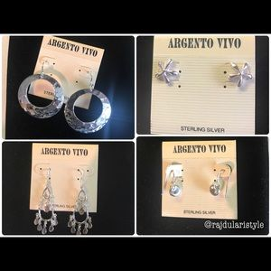 Argento Vivo Jewelry - Earring bundle! Get all 4 Pairs for $15! 🚫 offers