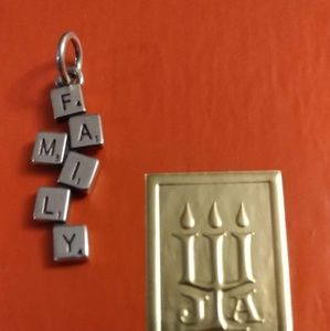 James Avery Jewelry - Gently used james avery Family Time Charm