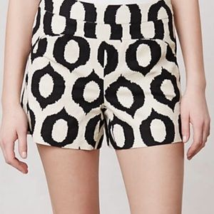 Anthropologie Cartonnier Ikat Shorts