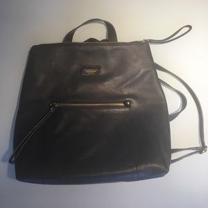 Giorgio Fiorelli Handbags - 🎒Black Leather Backpack🎒
