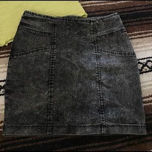 Nollie Dresses & Skirts - Nollie Denim Jeans Skirt Black Small