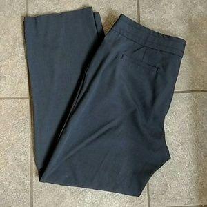 Larry Levine Pants - Larry Levine Stretch Gray Pants 12P