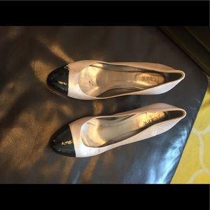 J. Crew cap toe heels