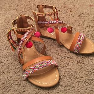 Traffic Shoes - Tribal sandals